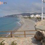 Playa El Chucho en Nerja