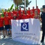 Las banderas de Q de calidad ya ondean en las playas de La Torrecilla, Burriana y El Chucho.