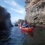 Ruta en kayak por los Acantilados de Nerja y Maro.