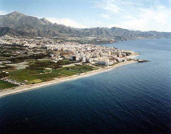 Zona del futuro Paseo Marítimo de El Playazo