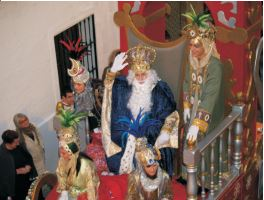 Cabalgata de Reyes Magos en Nerja