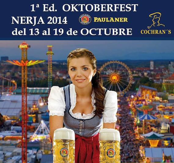 Primera edición de Oktoberfest Nerja 2014