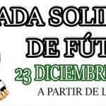 Jornada de fútbol solidaria en Nerja.