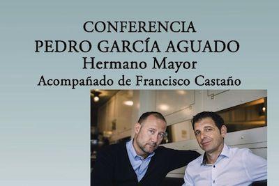 Conferencia de Pedro García Aguado, coach del programa 'Hermano Mayor', en Nerja