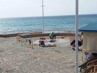 Nueva ubicación de la Fuente de Europa en la Plaza de los Cangrejos