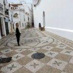 Nuevo empedrado artístico de las calles Iglesia, Tajillo y Trancos