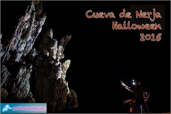 Noche de Halloween en la Cueva de Nerja