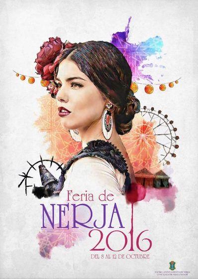Cartel de la Feria de Nerja 2016