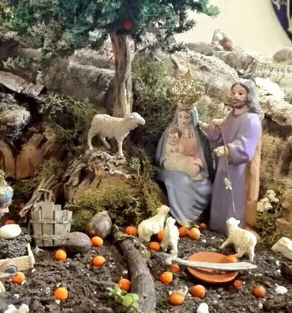 Belén de la Cofradía del Nazareno de Nerja