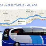 Autobuses Malaga Nerja y Nerja Malaga (horario y precio).