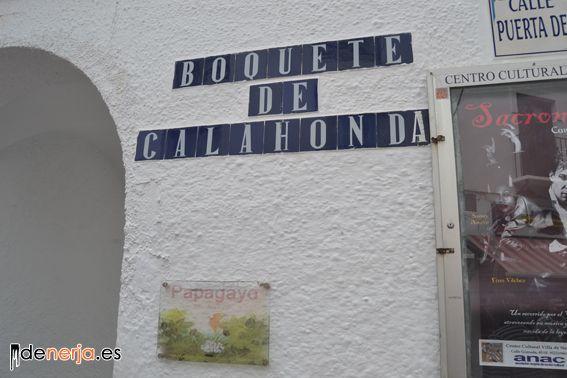 Boquete de Calahonda (Entrada a la playa)
