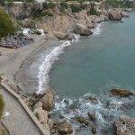 Las 3 mejores playas de Málaga están en Nerja.