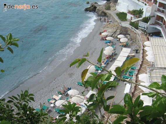 Caletilla Beach in Nerja