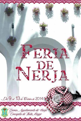 Cartel de la Feria de Nerja 2014