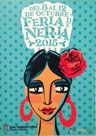 Cartel de la Feia de Nerja 2015