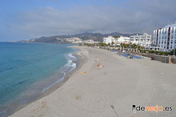 El Chucho beach from the viewpoint of  Torrecilla