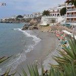 Hoteles, apartamentos y hostales en la Playa de la Caletilla (zona Balcón de Europa).