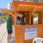 Biblioplaya, bibliotecas en las playas de Nerja