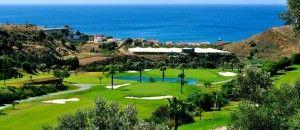 Campos de golf cerca de Nerja