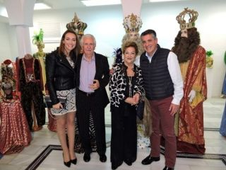 Exposición de trajes de Reyes Magos en Nerja