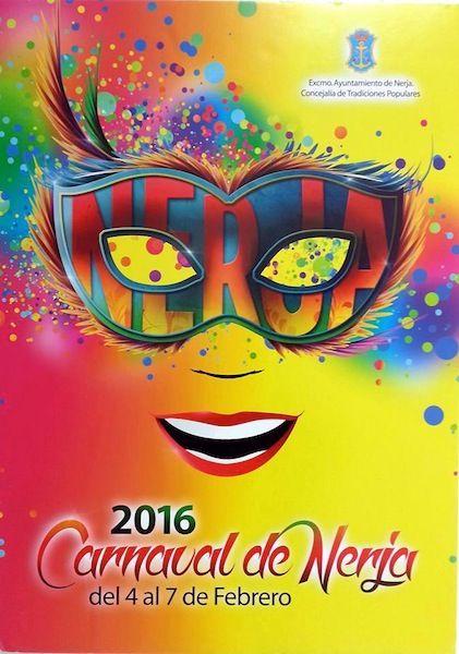 Cartel del Carnaval de Nerja 2016