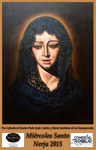 Cartel de la Pro-Cofradía de Nuestro Padre Jesús Cautivo y María Santísima de los Desamparados