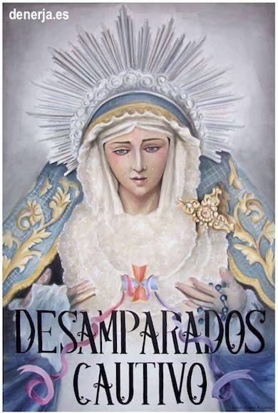 Cartel del Cautivo y María Santísima de los Desamparados de Nerja 2017