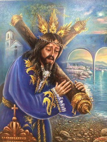 Cartel de la Cofradía Nazareno de nerja