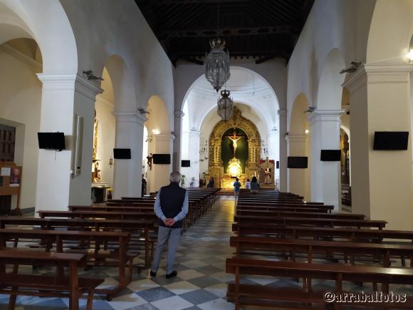Interior de la Parroquia El Salvador de Nerja