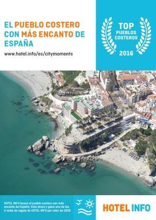 Nerja gana del concurso el Pueblo Costero con Más Encanto de España 2016