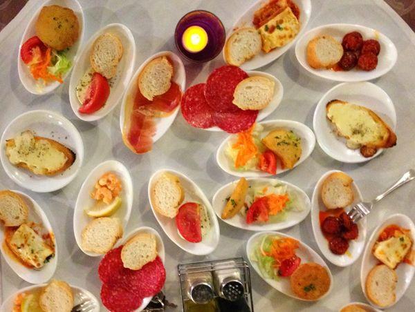 Tapas Restaurante La Fuente Nerja
