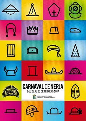 Cartel del Carnaval de Nerja 2017